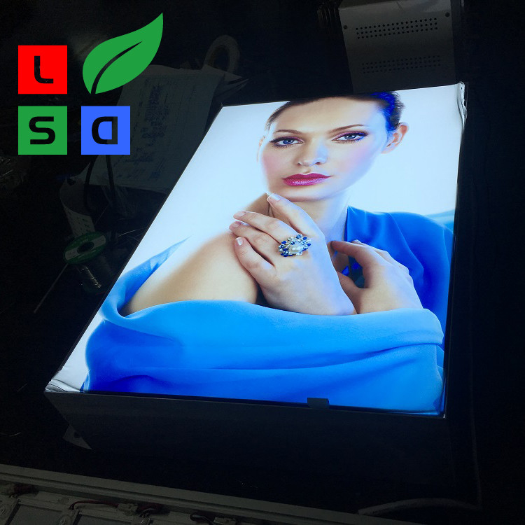 Advertising Light Box Display Big Single Side Fabric Light Box